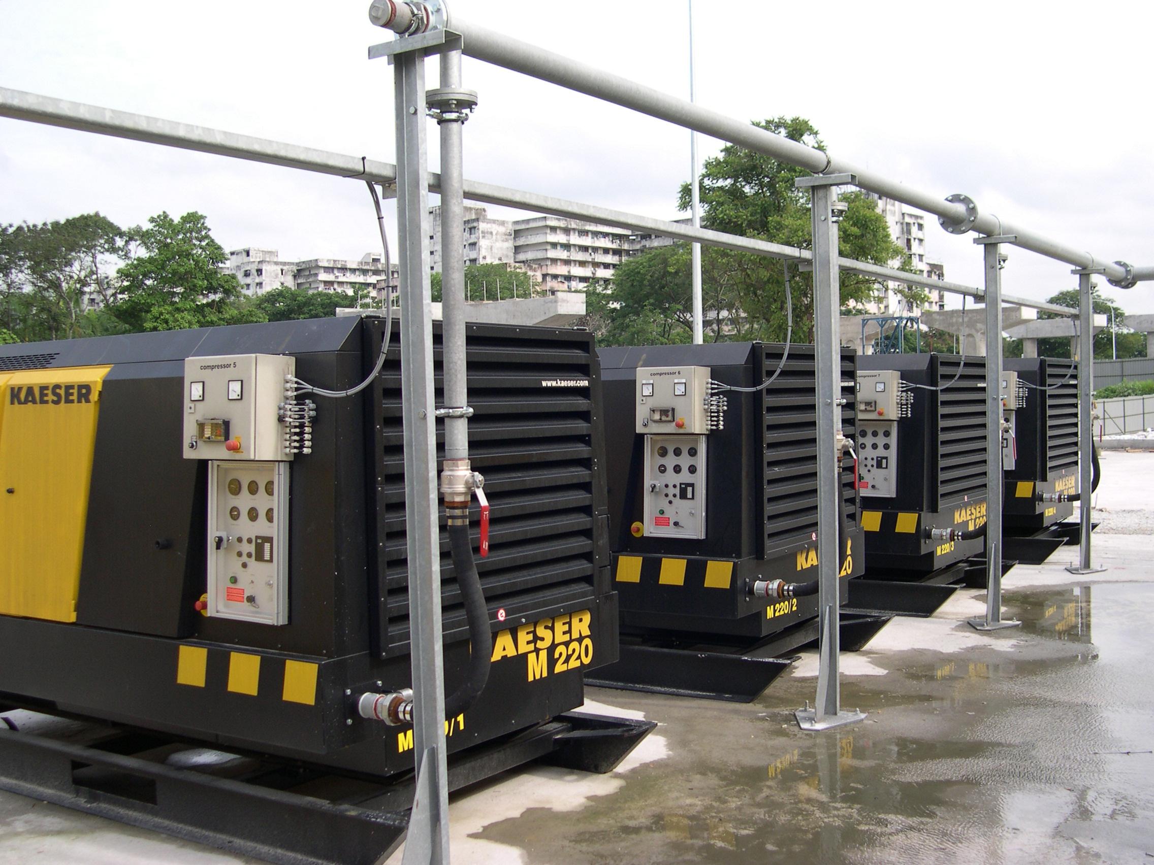 Compresores kaeser bbc y el tri ngulo de las bermudas - Compresores aire comprimido ...