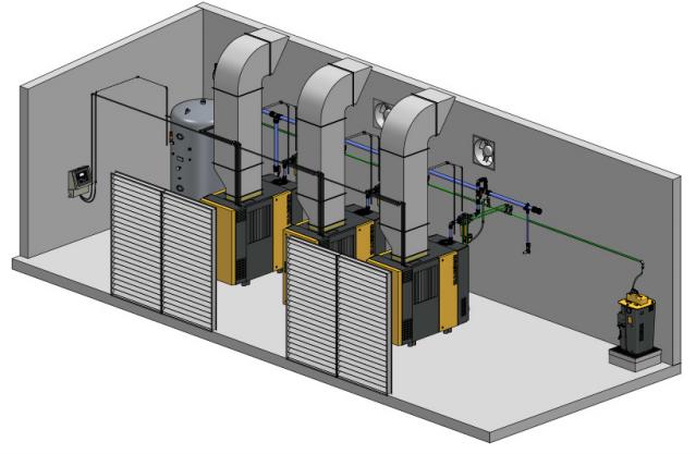 Instalaci n correcta de una estaci n de aire comprimido - Tuberia para instalacion electrica ...